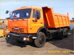 Новый КАМАЗ 65115 с кузовом для перевозки грузов