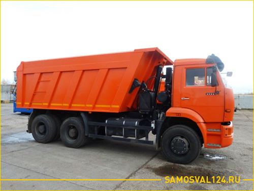 КАМАЗ 6520 в повышенным кузовом для большей вместимости